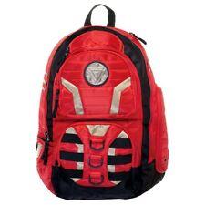 IRON MAN Arc Reactor Metal Logo Red XX Large Laptop Backpack