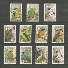 Trinidad & Tobago 1990-9 Birds short set, used.