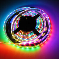 12V 5M WS2811 5050 RGB Full color Addressable Led Strip Light 30LED/M IP67 Tape