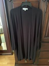"""AMOUR VERT """"MELISSA"""" LONGLINE CARDIGAN *Made in the USA $98 Size L"""