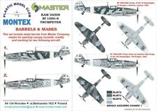 Montex KAM 1:24 Bf-109 G-6 #1 for Trumpeter Mask+Metal Part #KAM24008