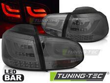 VW Golf 6 VI LED Lightbar Rückleuchten LED Blinker Grau-Smoke-Rauch Bj.2008-2012