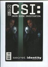 CSI: SECRET IDENTITY #1-5 - SCRIPT BY STEVEN GRANT - 2005