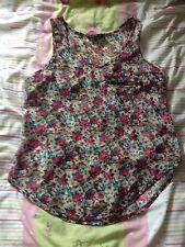 Miso @ Republic Floral Chiffon Vest Size 8