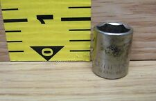 """Genuine Craftsman (43004) G Series 9/16 6 Point 3/8"""" Drive Socket Only *U.S.A.*"""