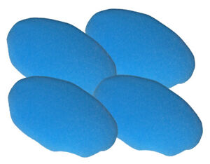 Black and Decker 4 Pack Of Genuine OEM Replacement Foam Bonnets # 580753-00-4PK