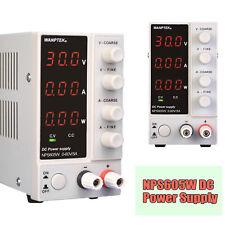 New Listingadjustable Dc Power Supply 60v 5a Precision Variable 3 Digital Lab Nps605w New