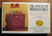 DOLL HOUSE OF MINIATURES KIT, HUTCH CABINET, ANTIQUE REPLICA, KITCH OR DINING
