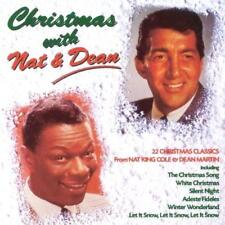 CHRISTMAS WITH NAT & DEAN (CD 1998) EXC 20 Holiday Tracks King Cole/Martin