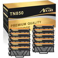 10PK Fits for Brother TN850 Toner Cartridge HL-L6200dw MFC-L5800dw MFC-L5900dw