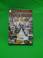 Sid Meier's Civilization IV (PC, 2005) - European Version NIB Sealed Great Shape
