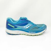 Saucony Womens Guide 10 S10351 1 Blue Running Shoes Lace Up Low Top Size 9 Wide