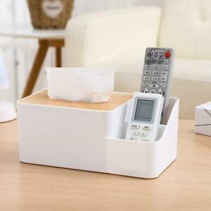 Tissue Box Cover Table Napkin Paper Case Holder Storage Organizer Dispenser