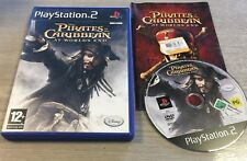 Pirates Of The Caribbean At Worlds End For Sony Playstation 2, PS2, Complete