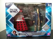 Doctor Who 8th Docteur & Alpha Dalek Exclusif Twin Pack-NEUF-RARE #