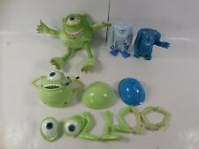 LOT OF DISNEY PIXAR MONSTER INC TOYS ACTION FIGURES PLUSH SULLY MIKE