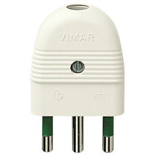 VIMAR SPINA 2P+T 16A ASSIALE BIANCO 01026.B