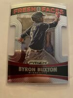 2015 Prizm Fresh Faces Die Cut - Byron Buxton (#11)  Minnesota Twins