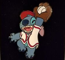 DISNEY AUCTIONS PIN LE DA STITCH BASEBALL FIELDER OUTFIELDER LILO