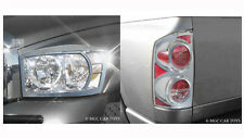 Dodge Ram 2006 2007 2008  Headlight & Taillight Chrome Trim Surround set