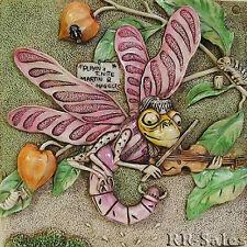 Dragonfly Martins Minstrel Byrons Secret Garden Harmony Kingdom Picturesque Tile