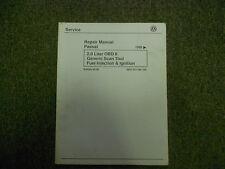 1995 96 97 98 99 VW PASSAT 2.0 OBD II Generic Scan Fuel Inj Ign Service Manual