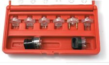 3401 8 PC. ELECTRONIC FUEL INJECTORS TEST KIT AND IDLE AIR CONTROL TESTERS