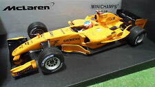 F1 McLAREN  MERCEDES MP4-20 TEST CAR 1/18 MINICHAMPS 530061895 voiture formule 1