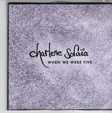 (CG720) Charlene Soraia, When We Were Five - 2010 DJ CD