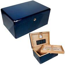 Cuban Crafters - Colores Azul Cigar Humidor - 100CT