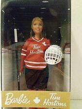 NEW Mattel Barbie Signature Tim Horton's Hockey Player Doll 2020 Brand New