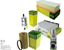 MANN-FILTER Paket + Presto Klima-Reiniger für VW Golf IV Cabriolet 1E7 V 1K1 1F7