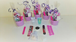 Pre Filled Girls, Teenagers, Ladies, Luxury Pre Filled Pamper Party Bags 9 Items