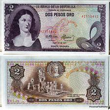 COLOMBIA BILLETE DE 2 PESOS ORO 1976 NUEVO Pck 413b BALSA MUISCA ESTILO MUSEO