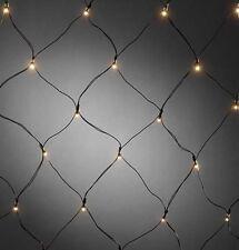 LED Lichternetz mit Lichtsensor und Timer GNOSJOE 3723-100 batteriebetrieben