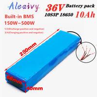 36V 10Ah Lithium li-ion Battery Pack 500W ebike Bicycle E Bike Electric