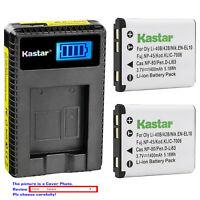 Kastar LCD Charger Battery for NP-45 NP-45A NP-45B NP-45S Fujifilm FinePix JZ505