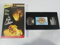 La Notte del Hunter Robert Mitchum Shelley Winters VHS Tape Castellano