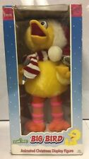 1998 Sesame Street Big Bird Animated Christmas Display Figure. New.