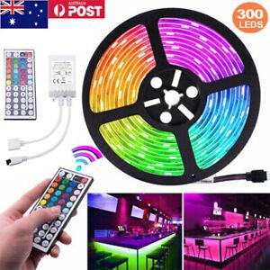LED Strip Lights, 16.4Ft/5M 300LED Light Strip SMD 5050 Waterproof Flex String