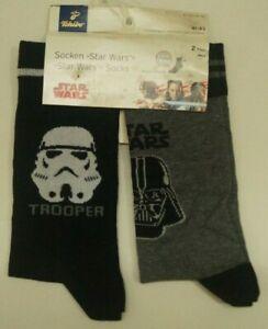 """TCHIBO  Herren Socken """"Star Wars"""" * 2 Paar * Gr. 41-43 * 3,50 €/Paar  (964 0621)"""