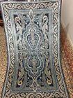 3X5 FT Very Rare Signed  Handmade Ghoum Design  high quality Pure Silk Kashmiri