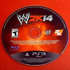 WWE 2K14 (Sony PlayStation 3, 2013) Disc Only # 5831