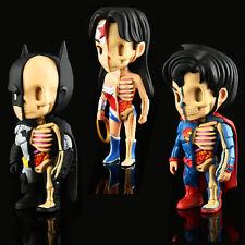 Jason Freeny XXRAY Batman Superman Wonder Woman Wave 1 Set of 3 Mighty Jaxx