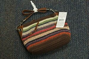NWT The Sak Womens Lucia Crochet Multicolor Shoulder Bag