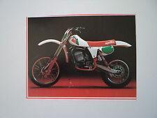 - RITAGLIO DI GIORNALE ANNO 1982 - MOTO APRILIA RC 250
