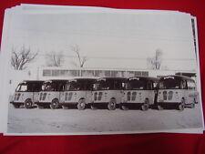 1950 'S ? INTERNATIONAL METRO TRUCKS BARDAHL FLEET  11 X 17  PHOTO  PICTURE