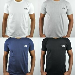 The North Face dome crewneck t-shirt, 100% cotton Slim fit t-shirt, summer