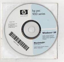 CD DRIVE E SOFTWARE - HP PSC 900 SERIES - WINDOWS XP - MACINTOSH