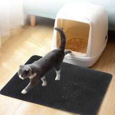 2 Layer Foldable Cat Eva Foam Litter Mat Waterproof Trapper Pad Pet Cushion Rug